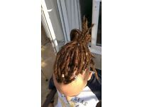 Dreadlocks, Sisterlocks (TM), Synthetic dreadlocks, Lock extensions in Manchester and North West