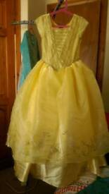 Disney Belle dressing up dress