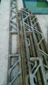 Timber i-beams / open web joists