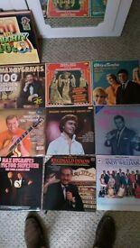 Various Vinyl albbums, job lot, country, 1940's, comedy