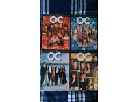 The O.C Seasons 1-4 DVD Box Sets Mint Condition