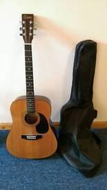 Encore Electro Acoustic Guitar w/bag