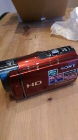 SONY make.believe Handycam HDR-CX130E Video Camera