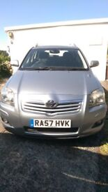 2007 TOYOTA AVENSIS ESTATE 2 LITRE DIESEL 12 MONTHS MOT IN GOOD CONDITION
