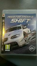 PS3 game need for speed shift