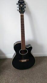 Aria Electro Acoustic Guitar Black