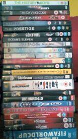100 DVDs for sale - job lot