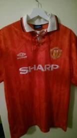 Manchester United retro Football shirt