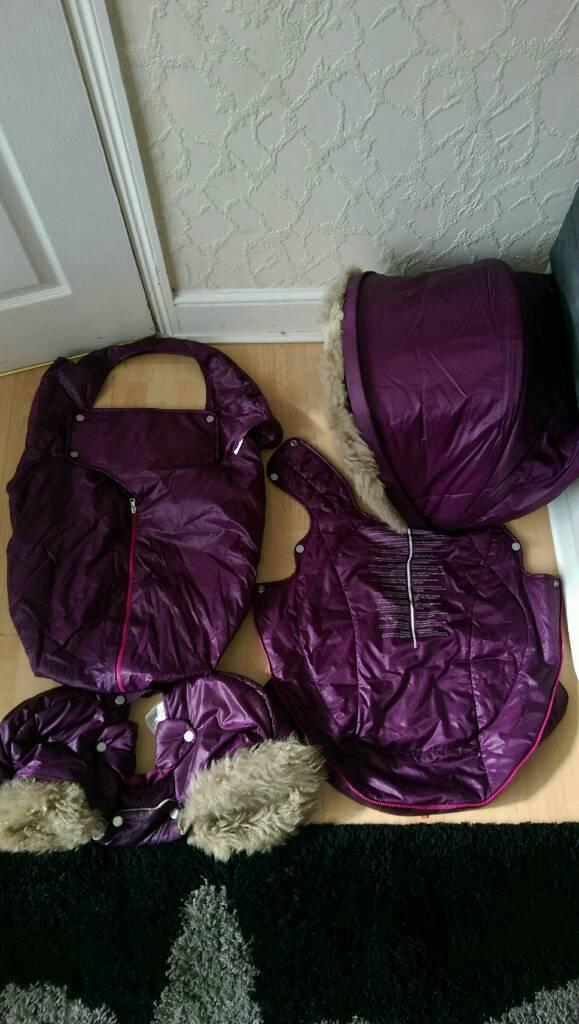 Stokke Xplory V3,V4,V5 winter kit-can post