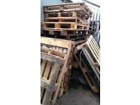 Wooden pallets, approx 20 - free to collect