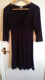 LK Bennett black long sleeve dress