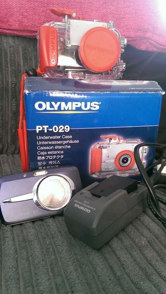 Olympus 600 Digital Camera With Underwater Case