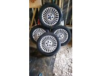 Ford mondeo transit connect alloy wheels 215/55/16 tyres