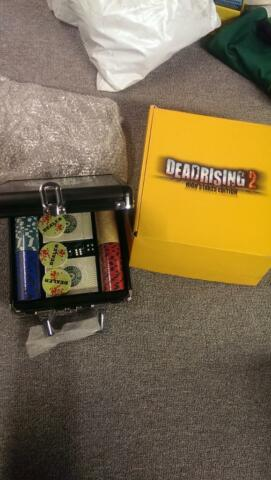 Brand New Dead Rising High Stakes Edition Poker Set