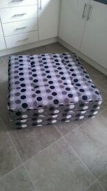 DFS sofa footstool