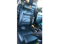 VR6 leather heated seats