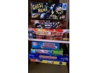 Various board games some electronic most normal. Grandson had a clearout.