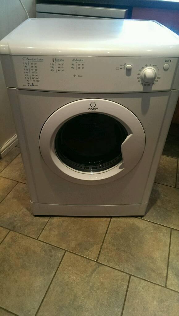 Indesit 7kg white vented tumble dryer IDV75 | in Dorking, Surrey | Gumtree