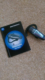 Motorola H300 bluetooth headset