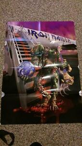 The Final Frontier World Tour 2011 Iron Maiden poster handout London Ontario image 1