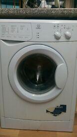 indesit washing machine 1100 spin. anticrease.