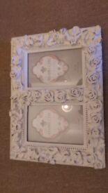 Twin photo frame