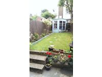 2 double bedroom house with garden, Tooting