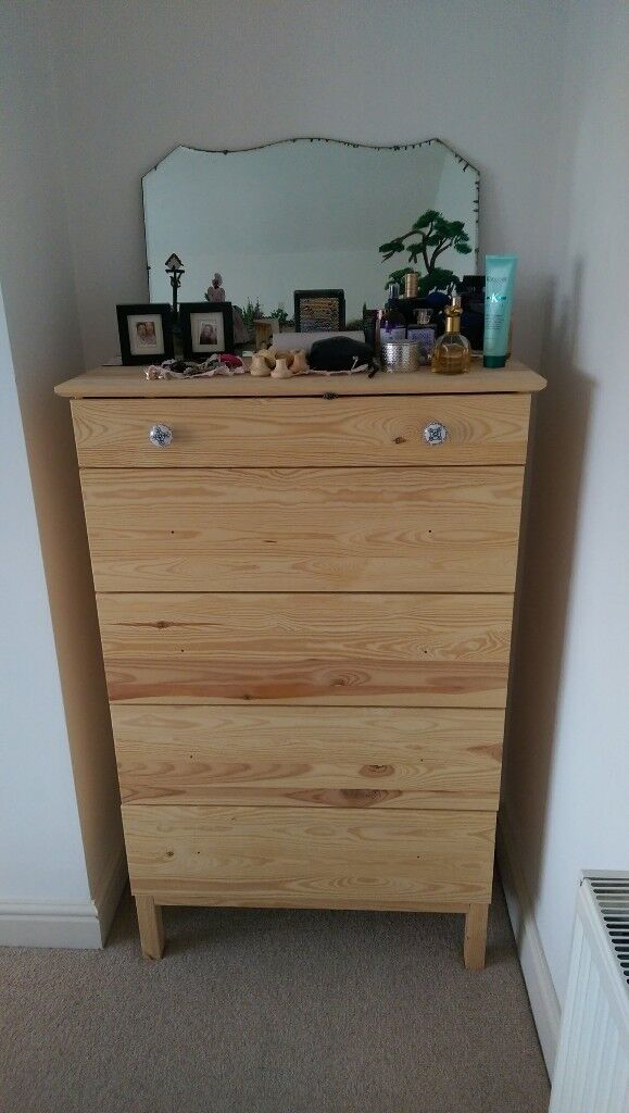 Ikea Tarva Chest Of 5 Drawers Unpainted In Newcastle Tyne And Wear Gumtree