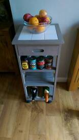 Chopping block /kitchen storage