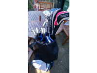 Complete Golf Set with Bag, Trolley, Mizuno Clubs etc