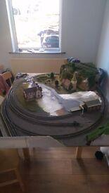 OO Gauge Model Railway Layout Unfinished