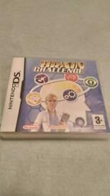 Brain Challenge Nintendo DS Game