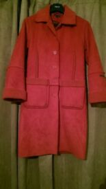 Womens long Red Coat