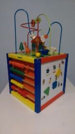 Baby kids activity cube toy