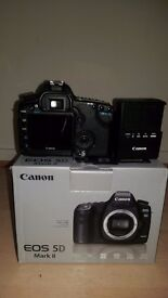 Canon Eos 5d mark ii body only battery charger mint condition