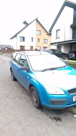 Blue Ford Focus 1.6 lx tdci diesel estate