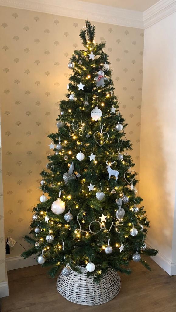 John Lewis Christmas Tree Skirt.Next Home Christmas Tree 350 Led Lights John Lewis Tree Skirt In Ingatestone Essex Gumtree