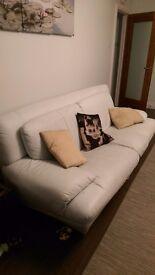 3-2-1 leather sofa