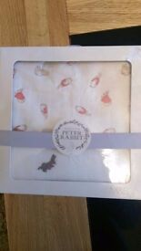 2 New Peter Rabbit large muslin swaddles (rrp £22)