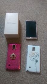 Saamsung Galaxy note 4 gold 32 gb fully working good condition