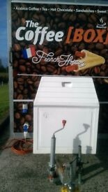 Catering Coffee Trailer with equipment