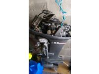 2x outboards for sale 40 hp long and 55hp short both yamaha mariners