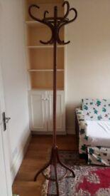 Wooden Coat Umbrella Hook Stand