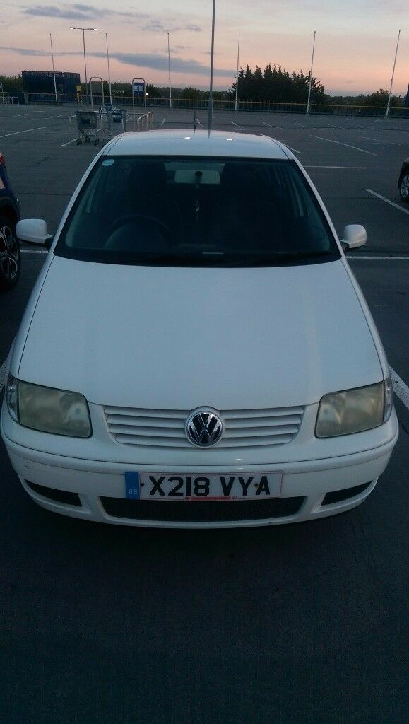 VW POLO 1.4 2000 White Hatchback Automatic for sale