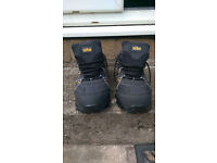 Safety Trainers Black Size UK 9/ EUR 43
