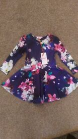 Brand New Ted Baker girls dress age 2-3