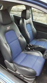 Ford Fiesta Mk6 ST seats