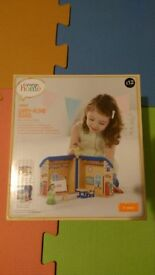 Brand new - Wooden Carry along school - £8