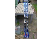 Salomon Crossmax 08 Ski's (L170, R15, SC107,69,102)
