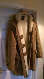 Super high quality XL CORDUROY DUFFLECOAT JACKET. 'Gloverall' brand British made. Old school!